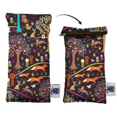Wipe Pouch Jewel Woods by Planet Wise