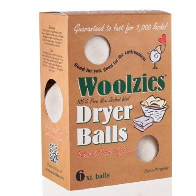 Wool Dryer Ball Natural Fabric Softener by Woolzies
