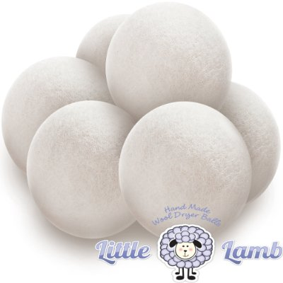 Wool Dryer Balls Premium Organic Felt by Little Lamb