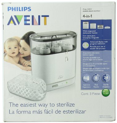 4-in-1 Electric Steam Sterilizer by Philips AVENT