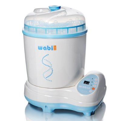 Electric Steam Baby Bottle Sterilizer Dryer by Wabi Baby