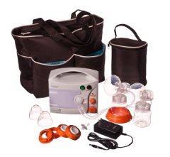 EnJoye LBI Breast Pump Black Tote Set by Hygeia