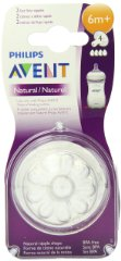 Natural Fast Flow Nipples by Philips Avent