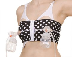 hands-free pumping bra by PumpEase