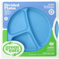Divided Plates 'Blue' by Green Eats