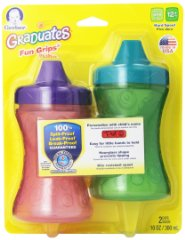 Fun Grips spill Proof Cup by Gerber Graduates