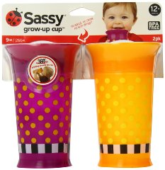 Grow Up Cup 'Purple - Orange' by Sassy