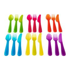 Kalas 'BPA-Free' Flatware Set by Ikea