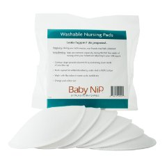 Molded Washable Nursing Pads by Baby Nip