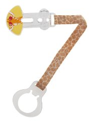 Single Pacifier Clip 'Giraffe' by MAM