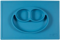 Happy Mat 'Blue' Placemat + Plate