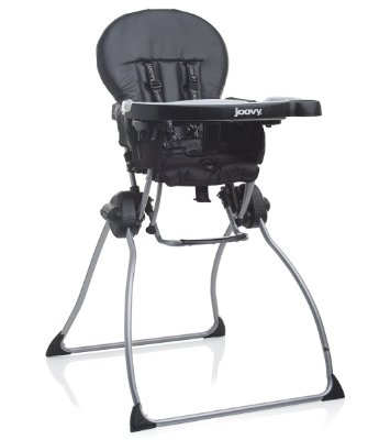 Nook Highchair 'Black - Leatherette' by Joovy