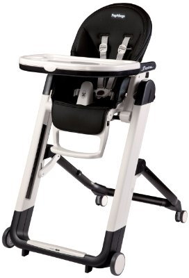 Siesta Highchair 'Licorice' by Peg Perego