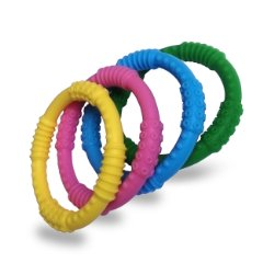 Baby Teether '4 Colors' by Babynow