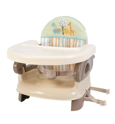 Deluxe Comfort Booster 'Tan' by Summer Infant