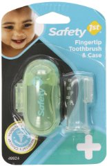 Fingertip Toothbrush and Case by Safety 1st