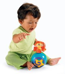 Crawl-Along Musical Ball by Fisher-Price
