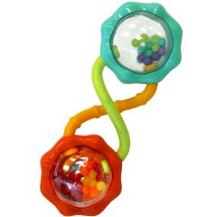 Rattle and Shake Barbell Rattle by Bright Starts