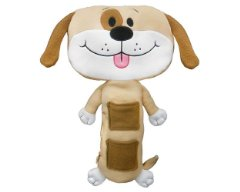 Tan Dog Car Seat Toy by Seat Pets