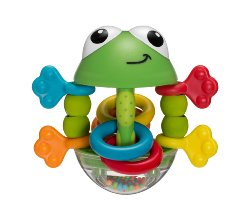Flip Flop Frog Rattle by Infantino
