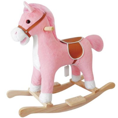 Lil Pink Rocking Horse by Charm