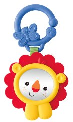 Peek-a-Boo Mirror 'Lion' by Fisher-Price