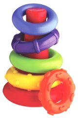 Rainbow Color Rock 'n' Stack by Playgro