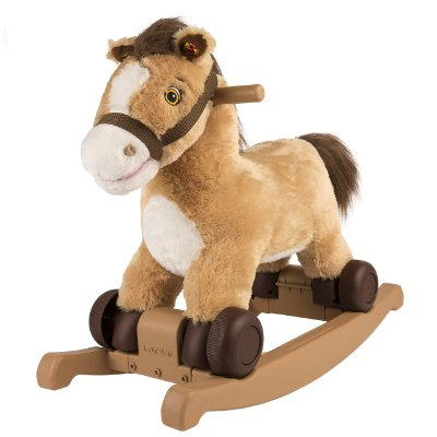 Rockin Rider Charger '2 in 1' Rocking Pony
