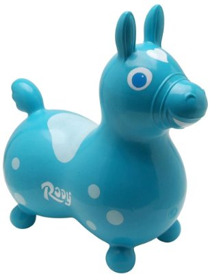 Rody Horse 'Teal' by Gymnic
