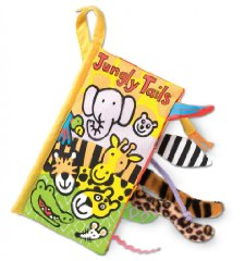 Soft Books 'Jungly Tails' by Jellycat