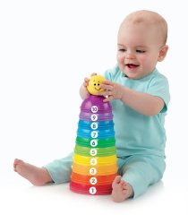 Stack & Roll Cups by Fisher-Price