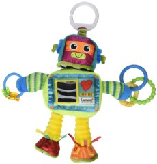 Tomy Lamaze Play and Grow Take Along Toy 'Rusty the Robot'