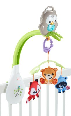 Woodland Friends '3-in-1' Musical Mobile by Fisher-Price