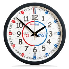 Children's Wall Clock by EasyRead Time Teacher