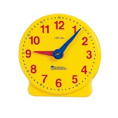 Student Clock by Learning Resources