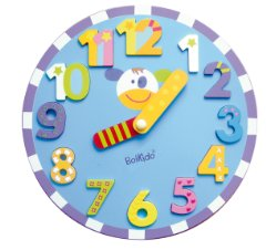 Wooden Chunky Clock Puzzle by Boikido