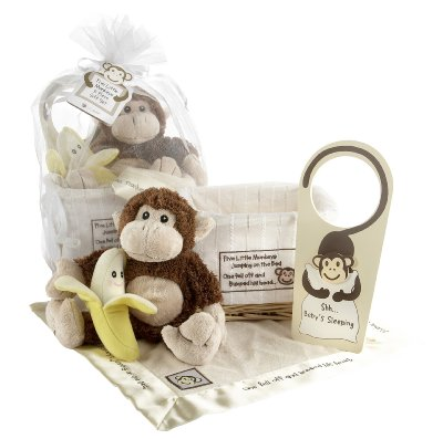 Gift Set with Keepsake Basket by Baby Aspen