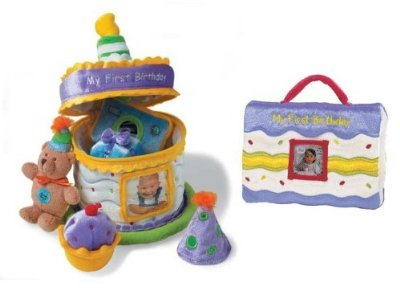 My First Birthday Gift Set by Baby Gund