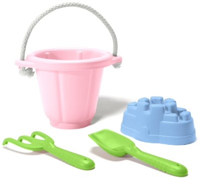 Sand Play Set 'Pink' by Green Toys
