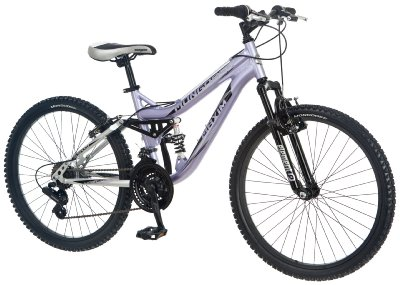 Girl's Full Suspension Bicycle by Mongoose