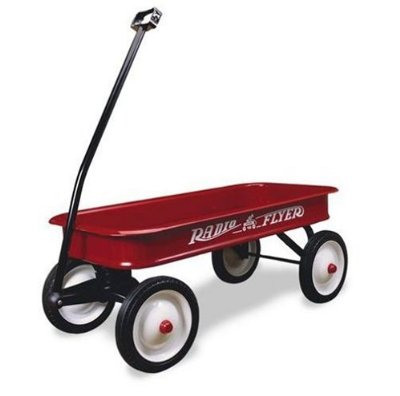 Classic Red Wagon by Radio Flyer