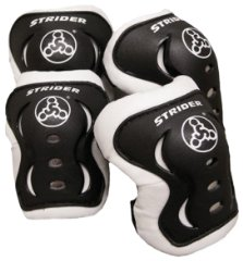 Knee and Elbow Pad Set by Strider