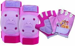 Princess Pads and Gloves Protective Gear Bell