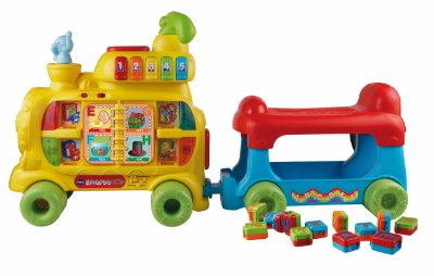 Sit-to-Stand Alphabet Train by VTech