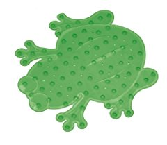 Bath Mat Froggie Collection Green by Mommy's Helper