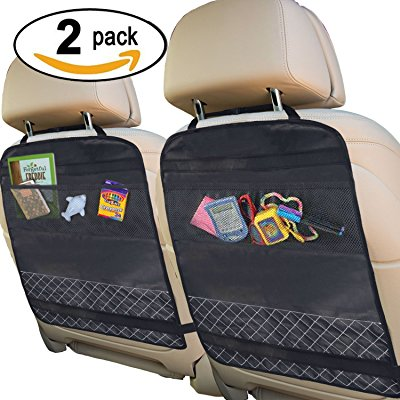 Best Kick Mats with Backseat Organizer Pocket Storage