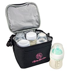 Breast Milk Baby Bottle Cooler Bag by Mommy Knows Best