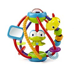 Clack and Slide Activity Ball by Bright Starts