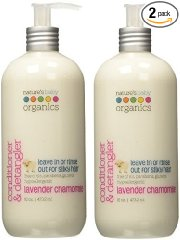 Conditioner & Detangler, Lavender Chamomile by Nature's Baby Organics