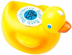 Floating Duck Toy Bath Tub Thermometer by Ozeri